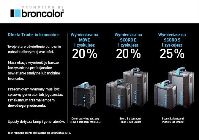 Promocja Trade-in Broncolor